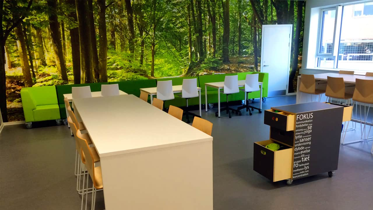 Creative learning in a practical space - © Lene Jensby Lange