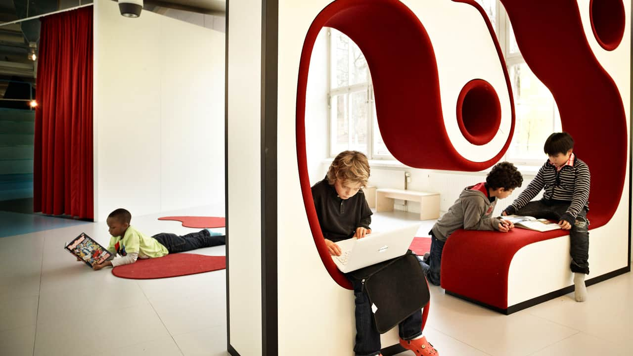 Creative spaces for personalised learning - © Kim Wendt / Rosan Bosch Studio