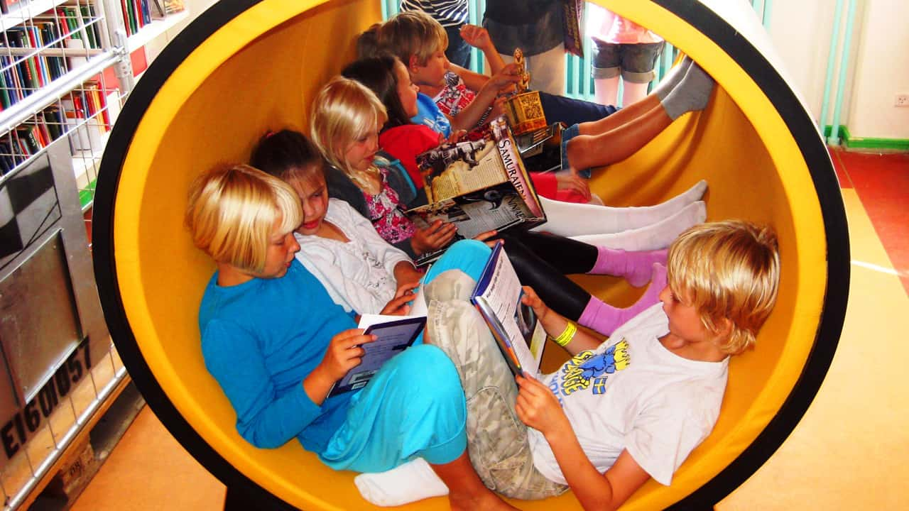 Creative spaces for small group learning - © Lene Jensby Lange
