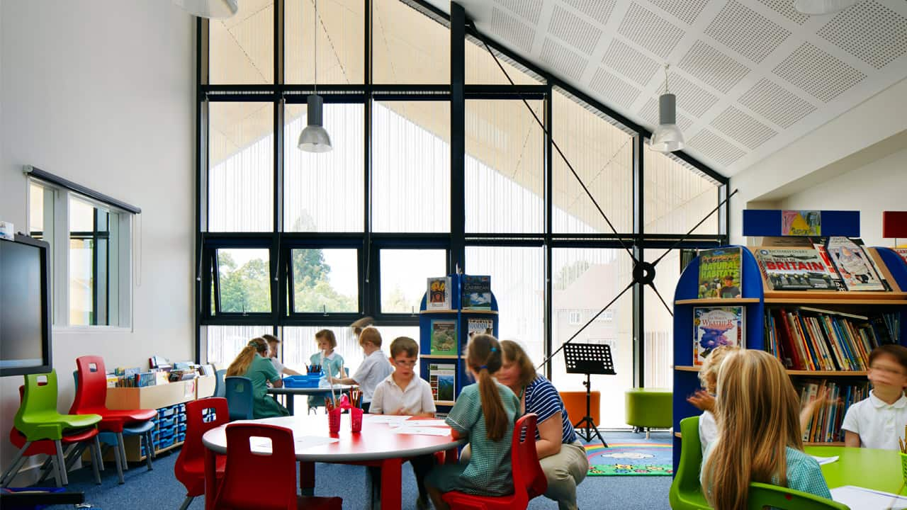 Multi-use library - © Jack Hobhouse