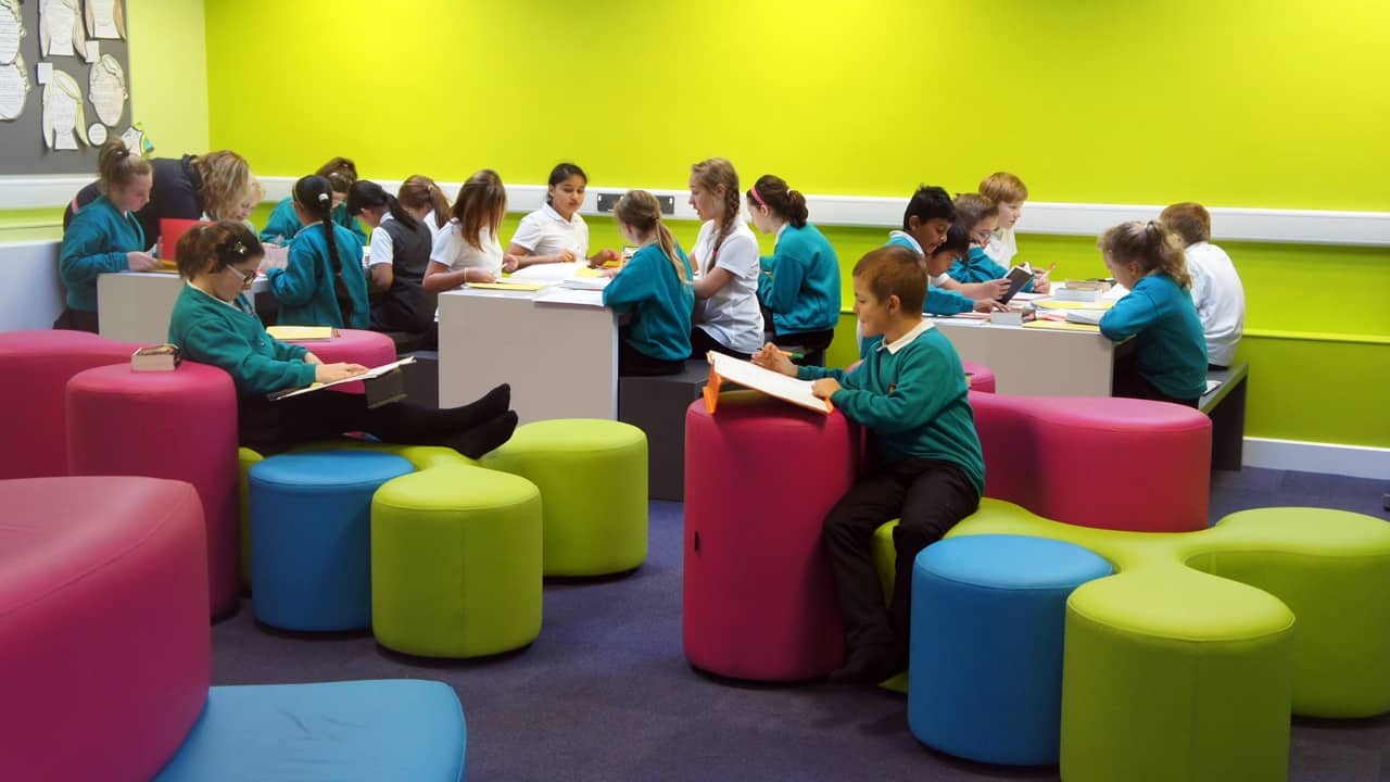 Seating for personalised learning - © James Clarke
