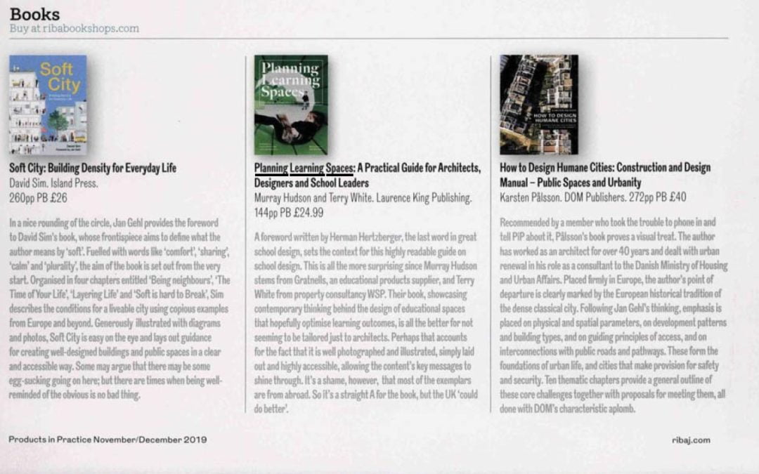 Another positive review in the RIBA Journal Products in Practice
